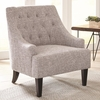 904068 Button Tufted Accent Chair by Scott Living