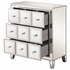950745 Glam Mirrored Accent Cabinet