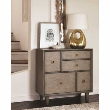 950759 Mid-Century Modern Accent Cabinet