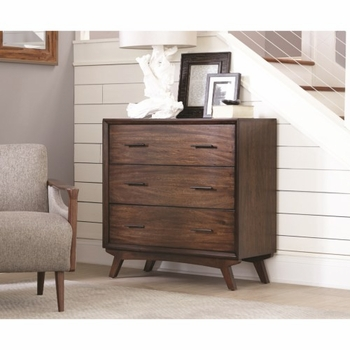 950760 Mid Century Modern Accent Cabinet