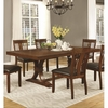 Abrams Trestle Dining Table with Leaf