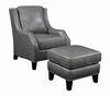 Accent Bonded Leather chair