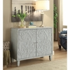Accent Cabinets Accent Cabinet with Floral Door Design