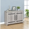 2-Door Accent Cabinet 950785 Grey Driftwood