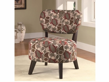 Accent Chair with Padded Seat
