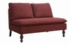 Accent Grenadine Armless Loveseat