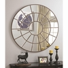 Accent Mirrors Circular Mirror with Palladian Inspired Design