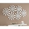 Accent Mirrors Contemporary Decorative Sunburst Wall Mirror