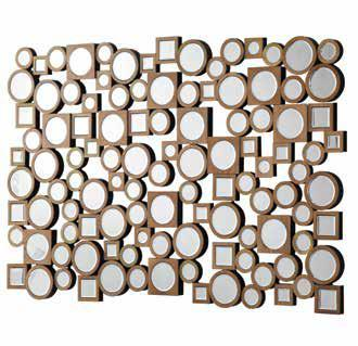 Accent Mirrors Contemporary Decorative Wall Mirror