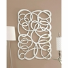 Accent Mirrors Decorative Swirl Wall Mirror