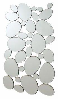 Accent Mirrors Modern Pebble Mirror