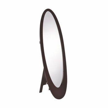 Accent Mirrors Oval Shaped Floor Mirror