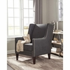 Accent Seating Charcoal Accent Chair