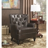 Accent Seating Upholstered Accent Chair with Diamond Tufting