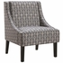 Accent Seating Upholstered Tight Back Accent Chair