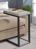 Accent Table Cement And Black # 902933