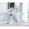 Accent Tables Contemporary Mirrored Console Table