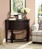 Accent Tables Demilune Entry Sofa Table