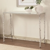 Accent Tables Glass Top Console Table