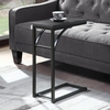Accent Tables Industrial Black Accent Table
