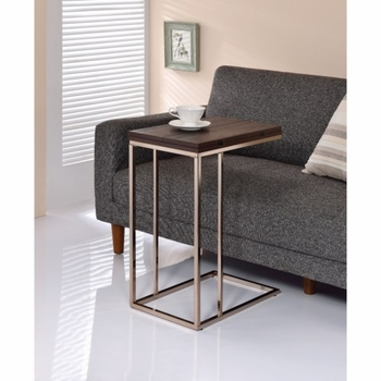 Accent Tables Snack Table with Expandable Rotating Top