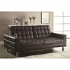 Adjustable Sofa Bed with Cup Holders
