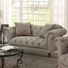 Alasdair Upholstered Loveseat with Button Tufting
