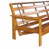 Loveseat Full bed Albany Moonglider Front Operating Full Lounger Size Futon Frame