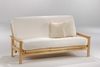 Albany Moonglider Front Operating Twin Lounger Size Futon Frame