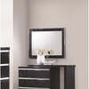 Alessandro Mirror with Wood Frame