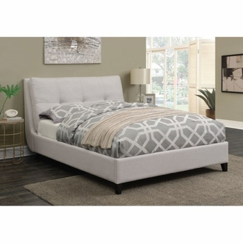 Amador Upholstered Twin Platform Bed With Pillow Top Headboard