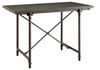Antonelli Bluestone Counter Height Table with Metal Legs