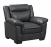 Arabella Contemporary Leatherette Chair
