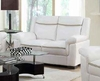 Arabella Contemporary Leatherette Loveseat