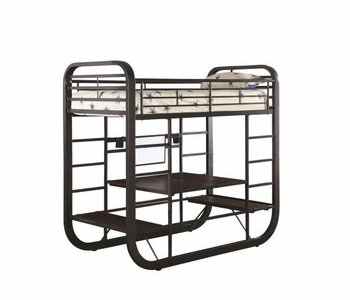 Archer Twin Workstation Bunk Bed