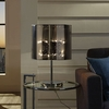 ARENA TABLE LAMP IN SILVER