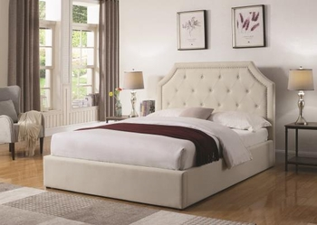 Chasin Queen Style platform Upholstered Bed