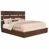 Artesia King Platform Bed with Plank Headboard by Scott Living