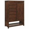 Artesia Vintage Inspired Gentleman's Chest with Shoe Rack by Scott Living