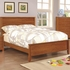 Ashton Collection Twin Platfrom Bed with Framing Details