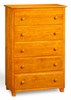 Floor Model Atlantic five drawer chest