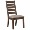 Atwater Dining Side Chair with Upholstered Seat