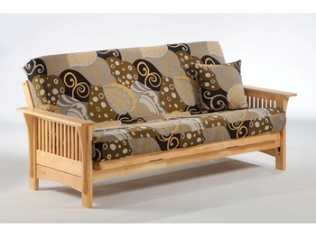 Autumn full Size Moonglider Front Operating Futon Frame