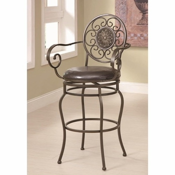 "Bar Stools 29"" Decorative Metal Barstool"