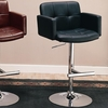 "Bar Stools 29"" Upholstered Bar Chair with Adjustable Height"