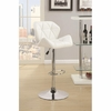 Bar Stools Adjustable Stool w/ Chrome Base