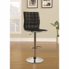 Bar Stools Adjustable Waffle Bar Stool with Footrest