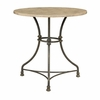 Bar Tables Counter Height Bistro Table with Metal Base