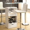 1-Drawer Bar Table Glossy # 120452