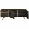 Bartole Modern Server with Doors and Drawers by Donny Osmond Home